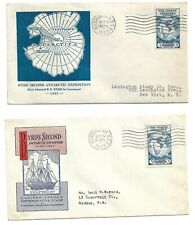 1933 FDC Byrd Expidition Ioor & Hobby Cover service Cachets
