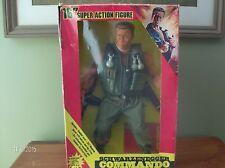 Arnold Schwarzenegger 1986 Commando Action Figure, Predator , Terminator , Conan