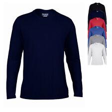 Gildan Herren T-Shirt PERFORMANCE Langarm Sportshirt S M L XL XXL 3XL Neu G42400