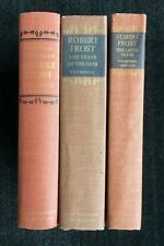 Robert Frost {3 Vols} Lawrance Thompson Letters | Years of Triumph | Later Years