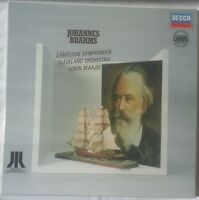 Brahms - Complete Symphonies 3LP Box, LORIN MAAZEL, Decca Digital DMM STEREO