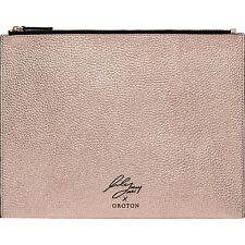 OROTON LIMITED EDITION Rose Gold Lily Mac LARGE Wristlet Pouch - RRP$125