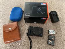 Sony Cyber-shot RX100 III 20.1MP Digital Camera AG-R2 grip With Extras