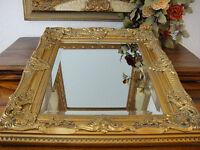 Wandspiegel Antik Barock Rokoko Stil Gold Edel Luxus Prunk Spiegel Jugendstil
