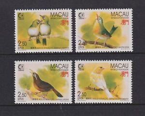 Macao - 1995, Singapore '95 Exposition, Oiseaux Ensemble - MNH - Sg 899/902