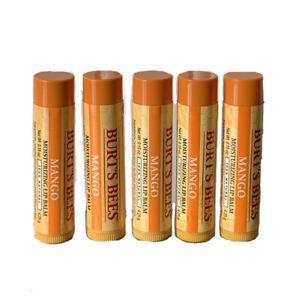 Burts Bees Mango Lip Balm Pack of 5