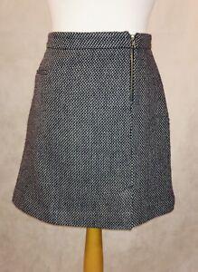 Tu Size 12 Short A-line Tweed Skirt