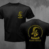 Rhodesian Armoured Car Regiment Corps Black Devils Army Bush War T-shirt