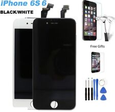 IPhone 6 / 6S WHITE / BLACK LCD Screen Touch Glass On Chassis with Tools + Glass