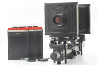 【 EXC+5 】 Sinar F 4x5 Monorail Camera + Fujinon W 150mm f/5.6 Lens from JAPAN