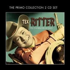 TEX RITTER - THE ESSENTIAL RECORDINGS 2 CD  40 TRACKS FOLK/FOLKLORE NEW+