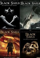 BLACK SAILS the Complete Series Seasons 1-4 on DVD - Season 1 2 3 4 -12 Disc NEW
