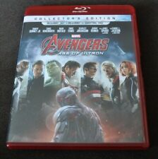 Avengers Age of Ultron 3D + 2D blu ray 2015 All Regions Eng/Fr/Span Audio
