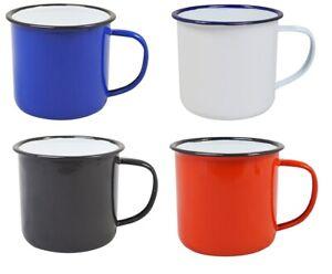 🔥 Enamel Mug Drinkware Oven/Dishwasher Safe Cup Handle 10CM 4IN 18OZ 520ML