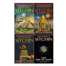 Zecharia Sitchin Nibiru Earth Chronicles Series Collection Set of Books 4-7 NEW!