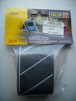 Faller 170634 Parkplatzfolie Diagonal  Spur H0