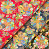 Japanese Cotton Fabric FQ Oriental Butterfly Flower Ball Asian Retro Time VJ31