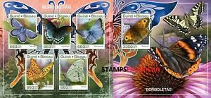 Guinea Bissau MNH, 2017 Butterflies Insects Butterfly. x32628