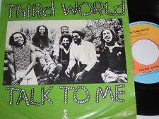 """7"""" - Third World Talk to me & Part 2 - 1979 # 5844"""