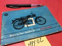 Yamaha 50 YF1 manuel entretien conducteur propriétaire moto