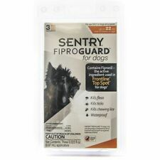 LM Sentry FiproGuard for Dogs Dogs up to 22 lbs (3 Doses)