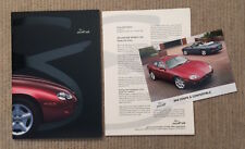 Jaguar XK8 Coupe and Convertible Press Pack - 1996