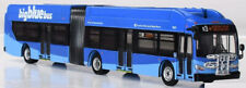 New Flyer Xcelsior Articulated Bus Big Blue Bus,Ca 1:87-Ho Scale Iconic Replicas