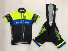 Men's Cycling Jersey Suit Shorts Short Sleeve Bicycle Set Wear Bike Bib Size L