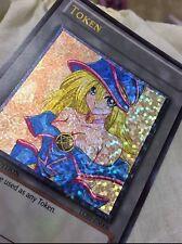 Yugioh Hybrid Orica Dark Magician Girl Shatter Foil Secret Rare Alt Art  PROXY
