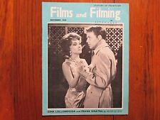 Nov-1959 Films and Filming Mag(GINA LOLLOBRIGIDA/STANLEY BAKER/ALFRED HITCHCOCK)