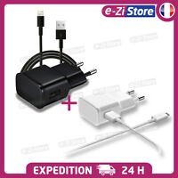 CHARGEUR IPHONE 5 6 7 8  PLUS X USB LOT KIT 2 EN 1 CABLE + SECTEUR 2A