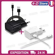 Chargeur Universel et USB cable secteur 2a