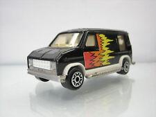 Diecast Majorette US Van No. 50 Black Very Good Condition