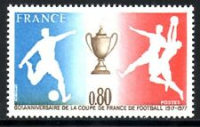 (Ref-11762) France 1977 60th Anniversary of French Football Cup SG.2195 Mint MNH