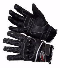 Neu Kurze Leder,Motorradhandschuhe  mit Protektoren ,Sommer,  Top Qualität Gr.XL