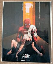 DEATH of GWEN STACY - PACK 8X10 Autograph BAM! Box COA! 1300 of 3000 SPIDER-MAN