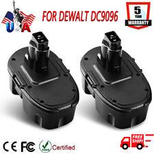 For Dewalt 18V XRP Battery DC9096 DC9098 DC9099 DW9095 NiCD Power Tools - 2Packs