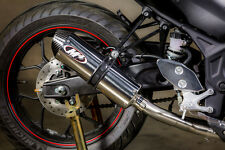 M4 Exhaust Yamaha R3 2015 - 2017 Full System Race/Std with Polished Canister