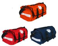 FIRST RESPONDER TRAUMA BAG - ORANGE/RED/NAVY BLUE