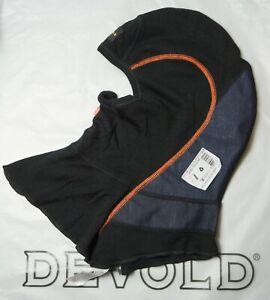 DEVOLD SPIRIT BALACLAVA HEADOVER WP Flame Retardant Merino Blend Black One Size