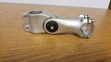 Sunlite 0-60deg Adjustable Stem  105mm  Sl 25.4 clamp 1-1/8 fork Steerer Silver