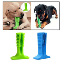 Pet Dog Toothbrush Stick Bite Resistant Fetch Toys for Aggressive Chewers