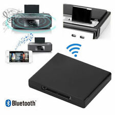 30 Pin Bluetooth Musik Audio Empfänger Adapter Dock A2DP für iPod iPhone iPad