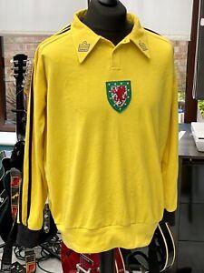 Dai Davies Wales Goalkeeper Retro Shirt 23 Inch Pit To Pit