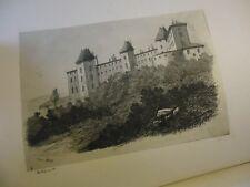 L'ART A LYON ET EN PROVINCE ARCHITECTURE 1ERE ANNEE 1879 CONSTRUCTION GRAVURES
