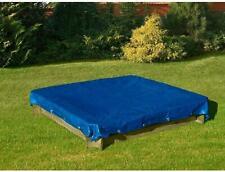 More details for 3 x 4 m blue tarpaulin waterproof furniture caravan cover sheet multipurpose