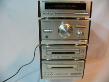 Technics SE-HD501 Mini Hi Fi Stereo Separates Stack System Walnut effect