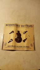 Antique Kodakoko Buttons Ukulele Kodak Camera Store Honolulu Hawaii Martin