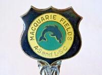 Collector's Vintage Souvenir Teaspoon MACQUARIE FIELDS A.S and L.S.C by Stuart