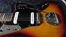 Fender JAGUAR MIJ SUNBURST BIG BLOCK BOUND Neck. T6 serial number. Staytrem